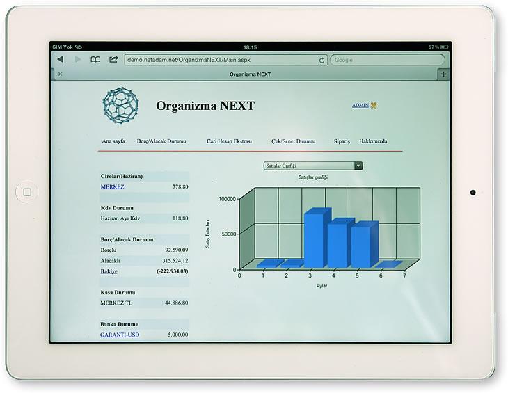 iPad Cep Telefonu Muhasebe